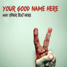 Bleeding Victory - Design your own names