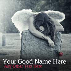 Broken Angel Girl - Design your own names