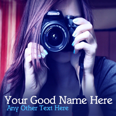 Girls name pictures - Camera Girl