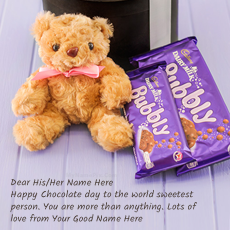 Happy Chocolate Day name pictures - Chocolate Day Wish