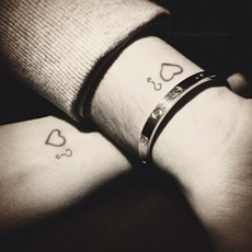 Alphabets name pictures - Couple Tattoo