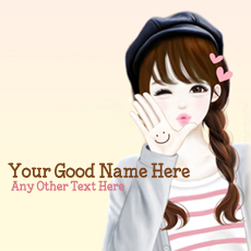 Cute Girl - Design your own names