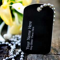 Dog Tag Necklace - Design your own names