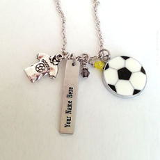 Football Neckalce - Design your own names