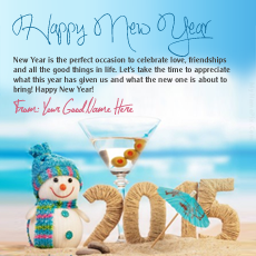 New Year Wishes name pictures - Happy New Year