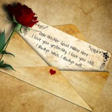 Beautiful Love Letter - Design your own names