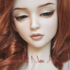 Dolls name pictures - Beautiful Redhead Doll