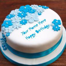 Birthday Ice Cream Cake - Design your own names