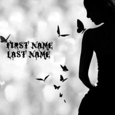 Butterfly Girl - Design your own names