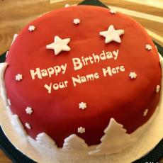Cool Birthday Cake - Design your own names