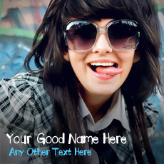 Girls name pictures - Crazy Girl
