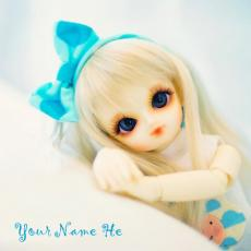 Cute Little Doll - Design your own names