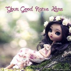 Dolls name pictures - Cute Stylish Doll