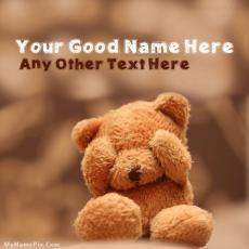 Cute Teddy - Design your own names