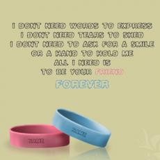 Friendship Nick Name Band - Design your own names