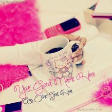 Girly Hello Kitty - Design your own names