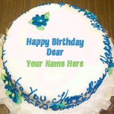 Birthday Cakes name pictures - Happy Birthday Dear