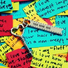 Stuff name pictures - Heart Key