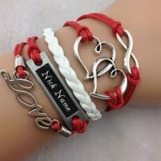Heart to Heart Bracelet - Design your own names