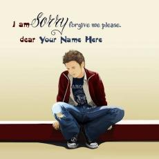 Boys name pictures - I am Sorry