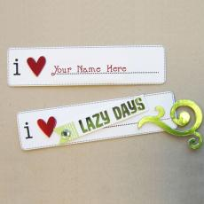 Cool name pictures - I Love Lazy Days