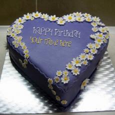 Indigo Yummy Cake - Design your own names
