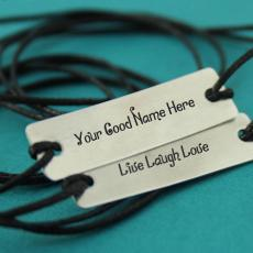 Jewelry name pictures - Live Laugh Love Silver Bracelet
