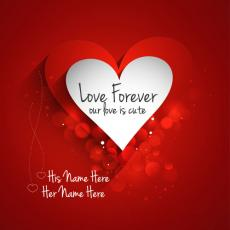 Love Forever - Design your own names