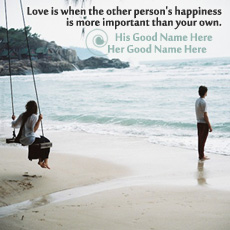 Love name pictures - Love is Happiness