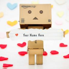 Lovely Danbo - Design your own names