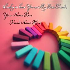 Friendship name pictures - Lucky Best Friends
