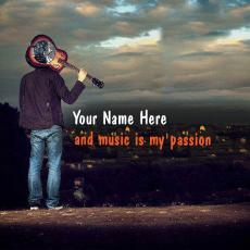 Boys name pictures - Music is my passion