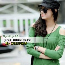 My Style My Attitude - Design your own names