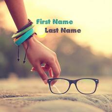 Cool name pictures - Picking Glasses