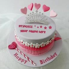 Birthday Cakes name pictures - Princess Cake
