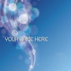 Simple name pictures - Shining Bubbles