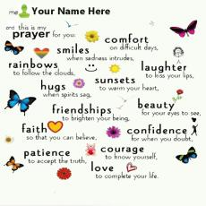 This is my prayer for you - Design your own names