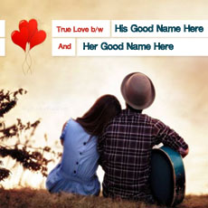True Couple Love - Design your own names