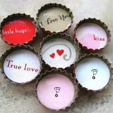 True Love Little Hugs - Design your own names