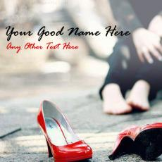 Walk A Mile in Her Shoes - Design your own names