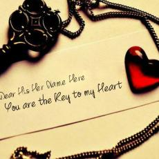 Love name pictures - You are the key to my heart