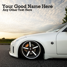 Ultimate Car - Design your own names