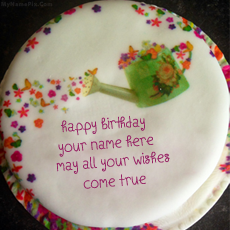 Wish Birthday Cake - Design your own names