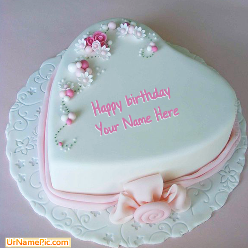 Cake Designs Birthday 2018 : Write name on Birthday Cake for Lover - happy birthday ...