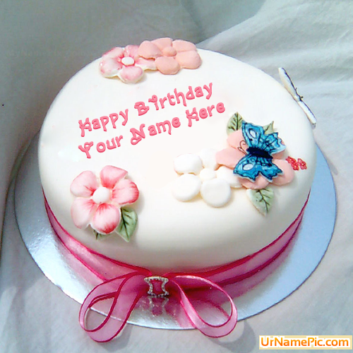 Birthday Wishes Cake Images For Sister : Write name on Birthday Cake for Sister - happy birthday ...