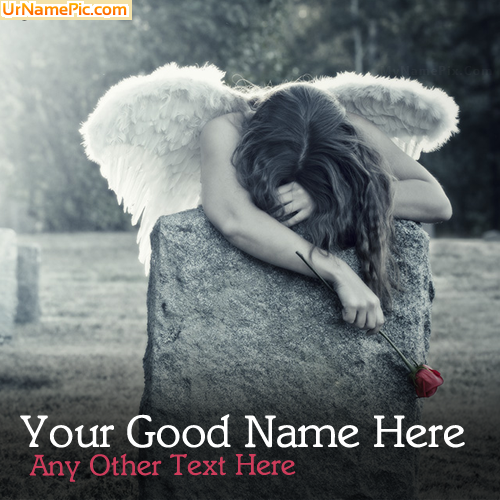 Design your own names of Broken Angel Girl
