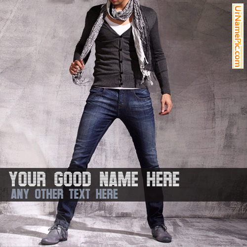 Design your own names of Fashion Style