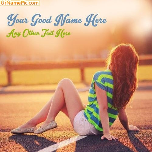 Design your own names of Awesome Stylish Girl
