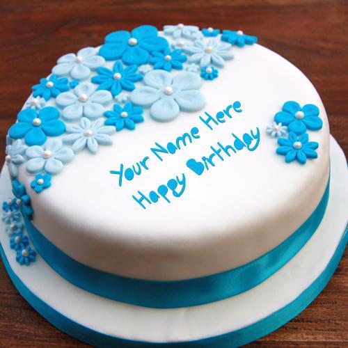 Design your own names of Birthday Ice Cream Cake