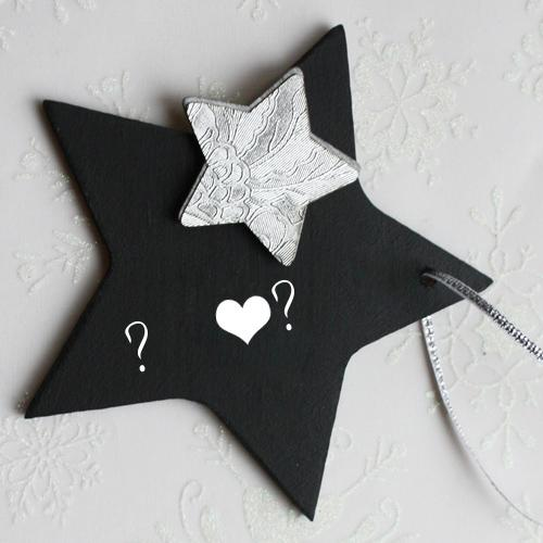 Design your own names of Black Star Alphabets
